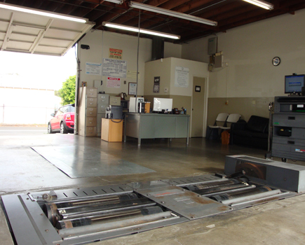 smog test equipment